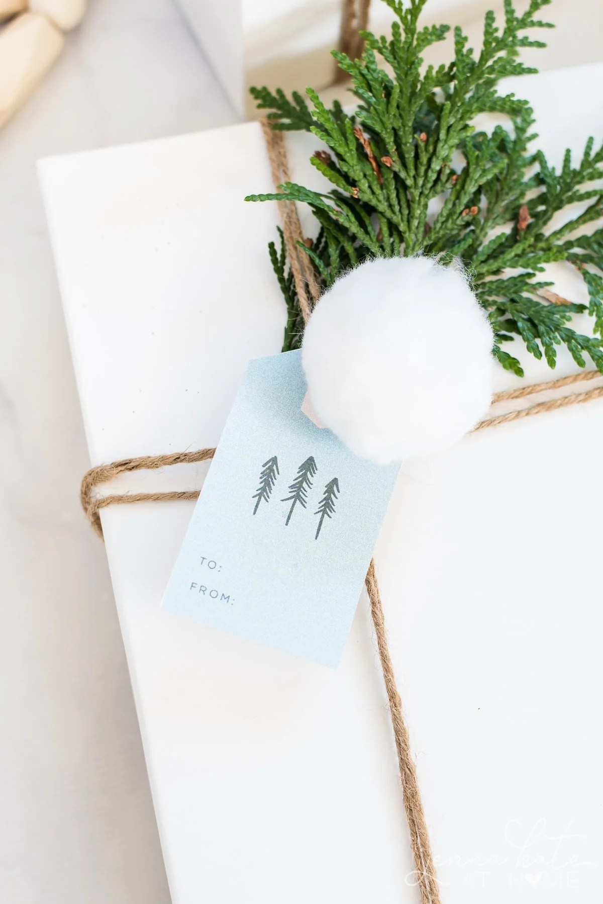 Make your gifts extra special this Christmas with these free printable gift tags