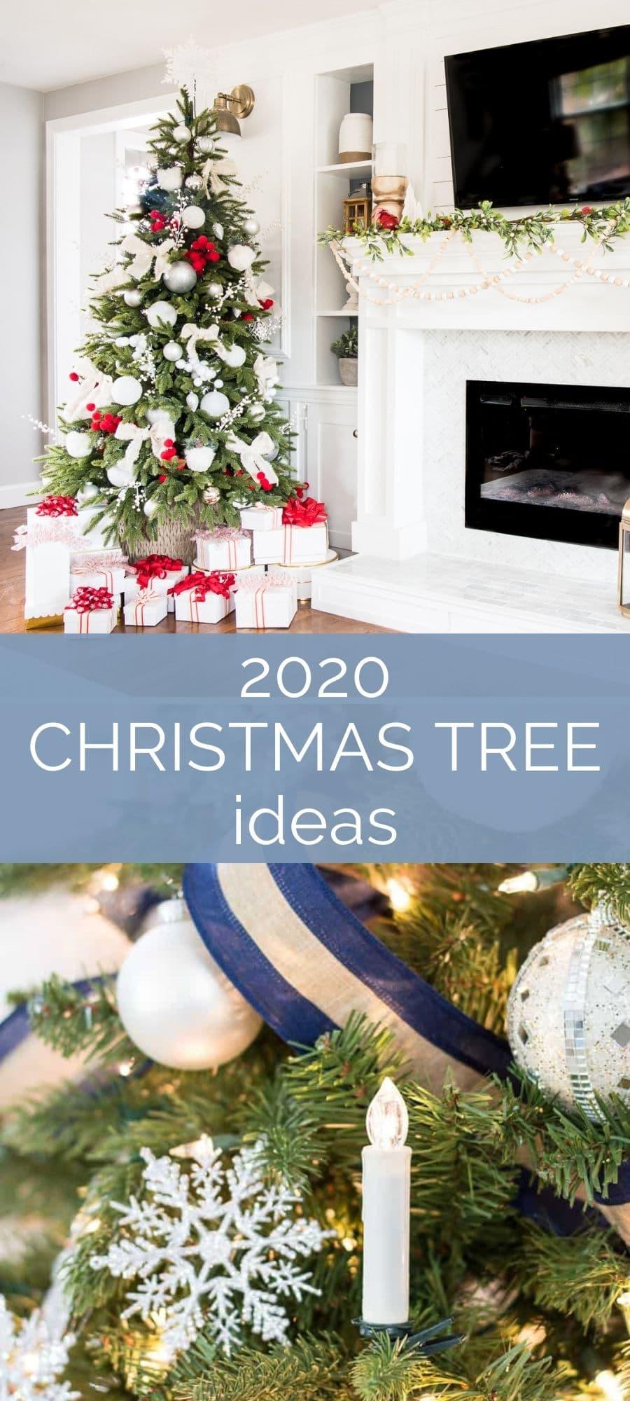 Christmas Tree Ideas 2020 Edition Jenna Kate At Home