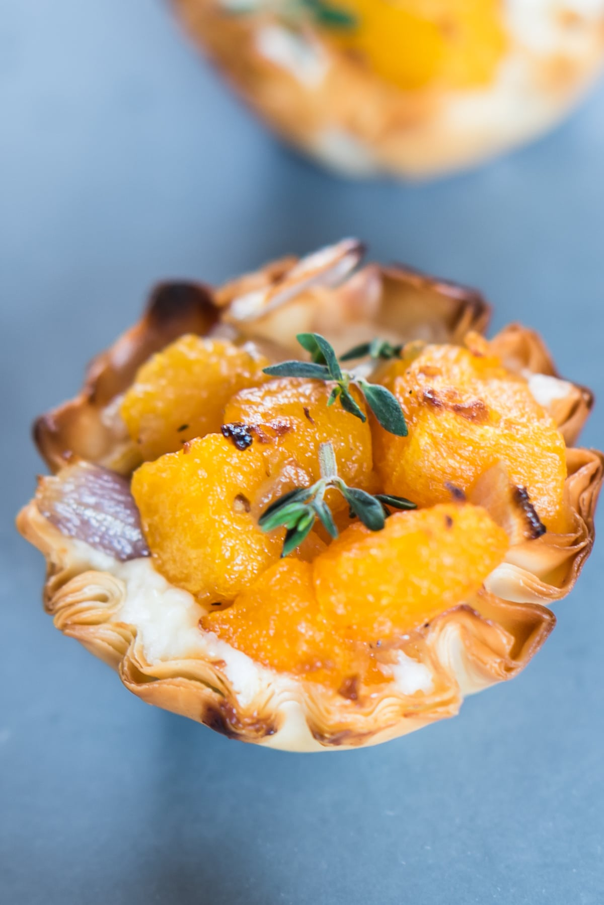 Butternut squash bites. The best holiday appetizer