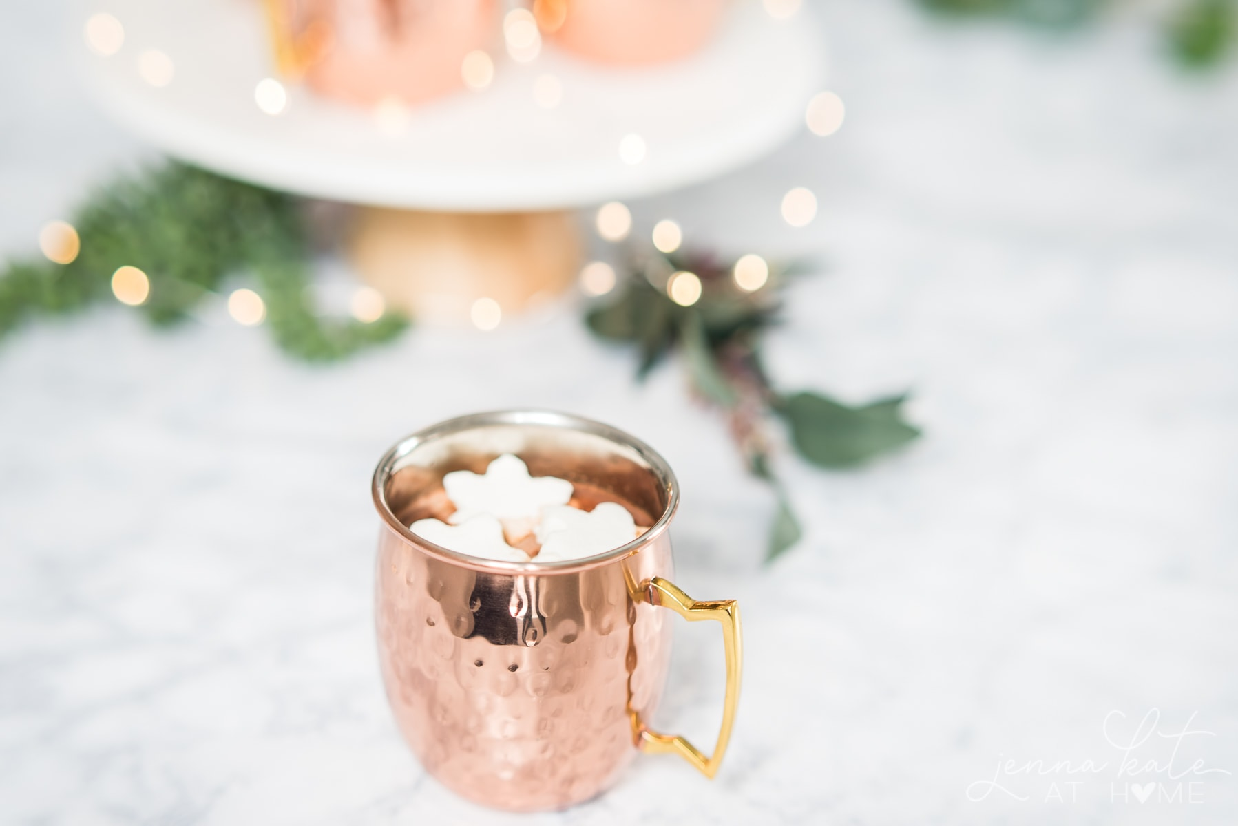 This homemade hot chocolate is made with only three ingredients and requires no cocoa powder, just real chocoloate!