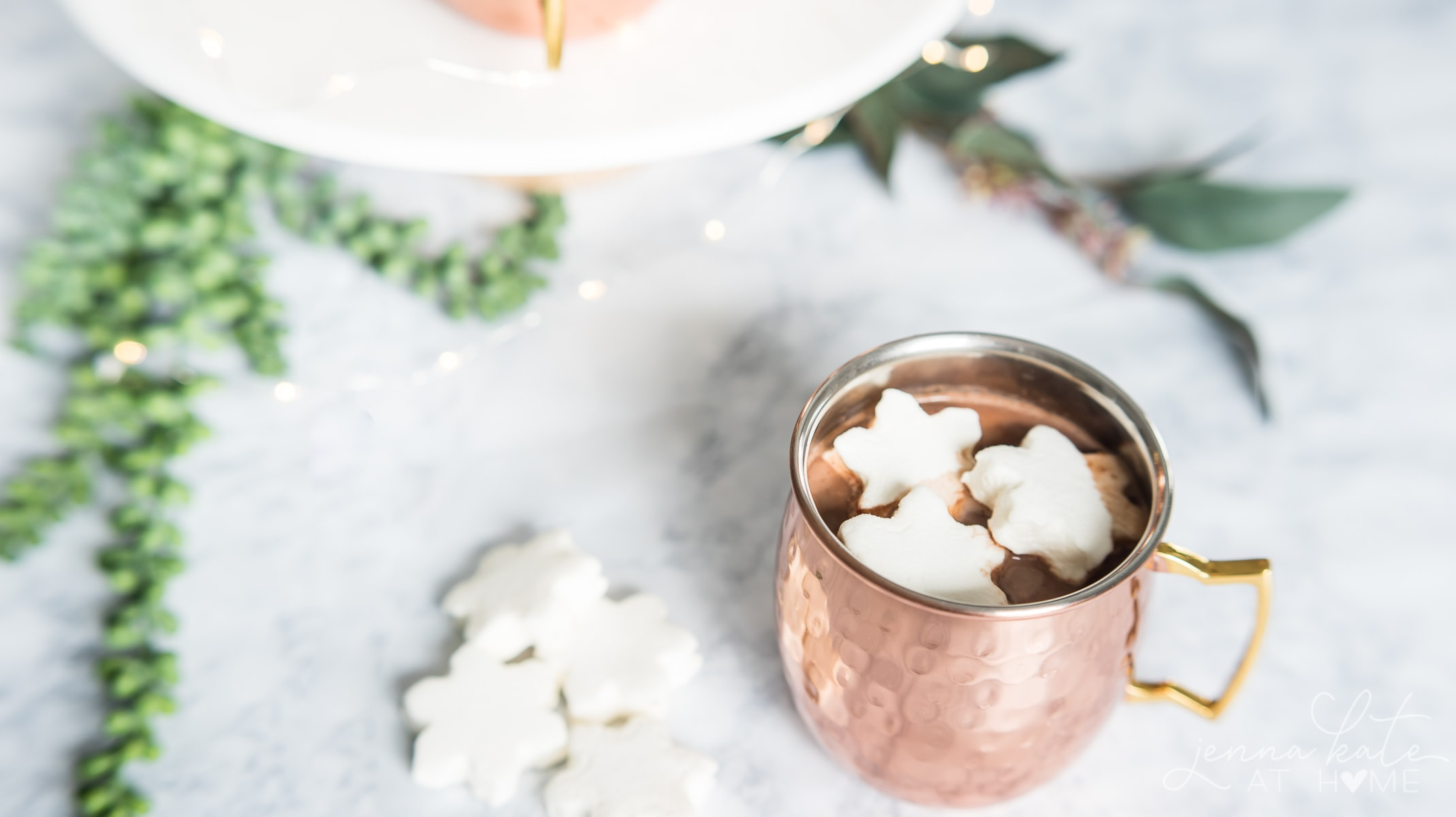 This rich and creamy hot chocolate recipe only calls for 3 ingredients and is perfect for holiday parties