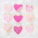 Valentine's sugar cookie recipe