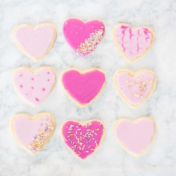 Valentine's sugar cookie recipe