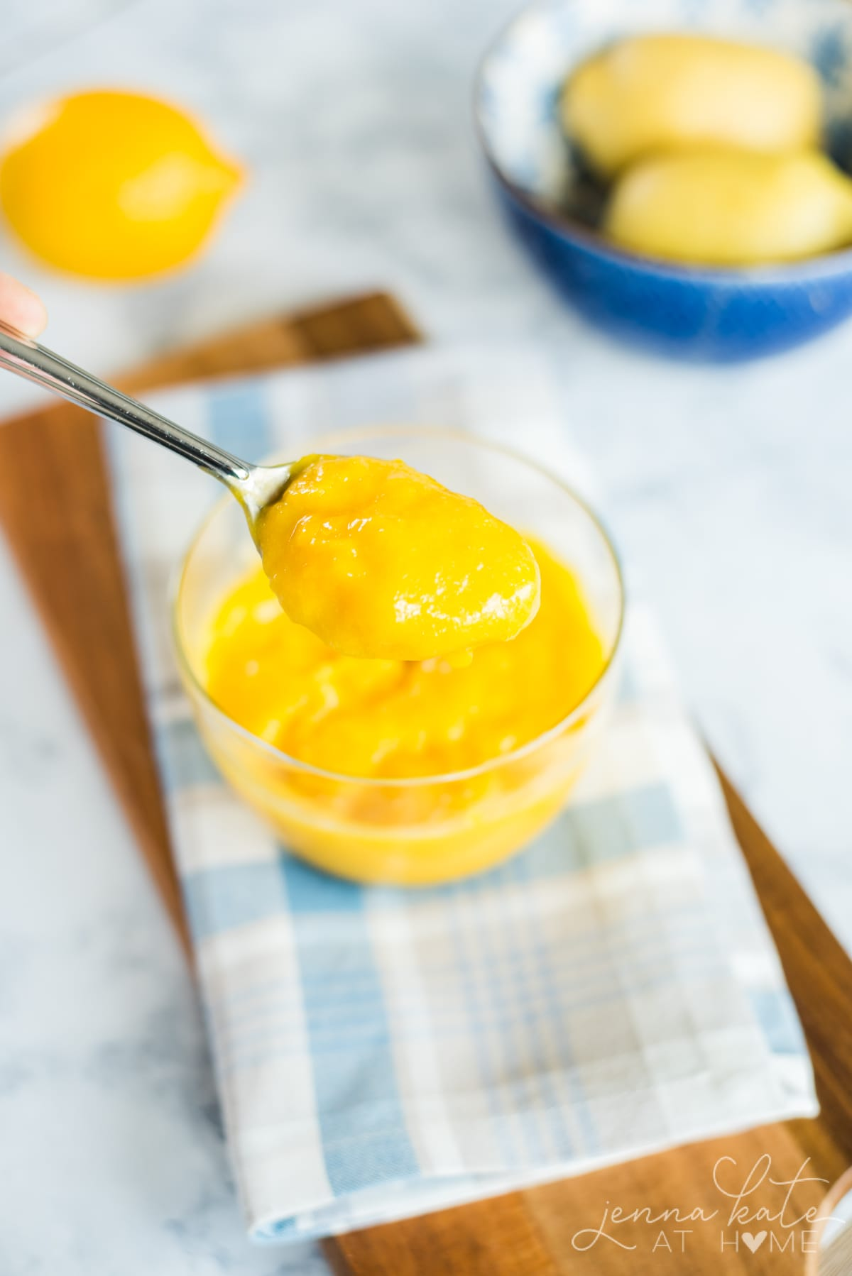 easy homemade lemon curd recipe