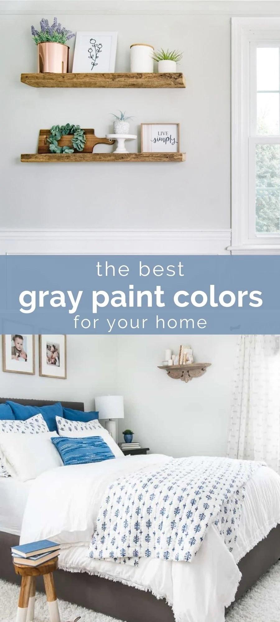 the best gray paint colors