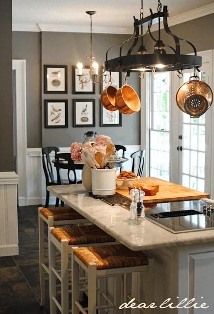 Benjamin Moore Chelsea Gray kitchen