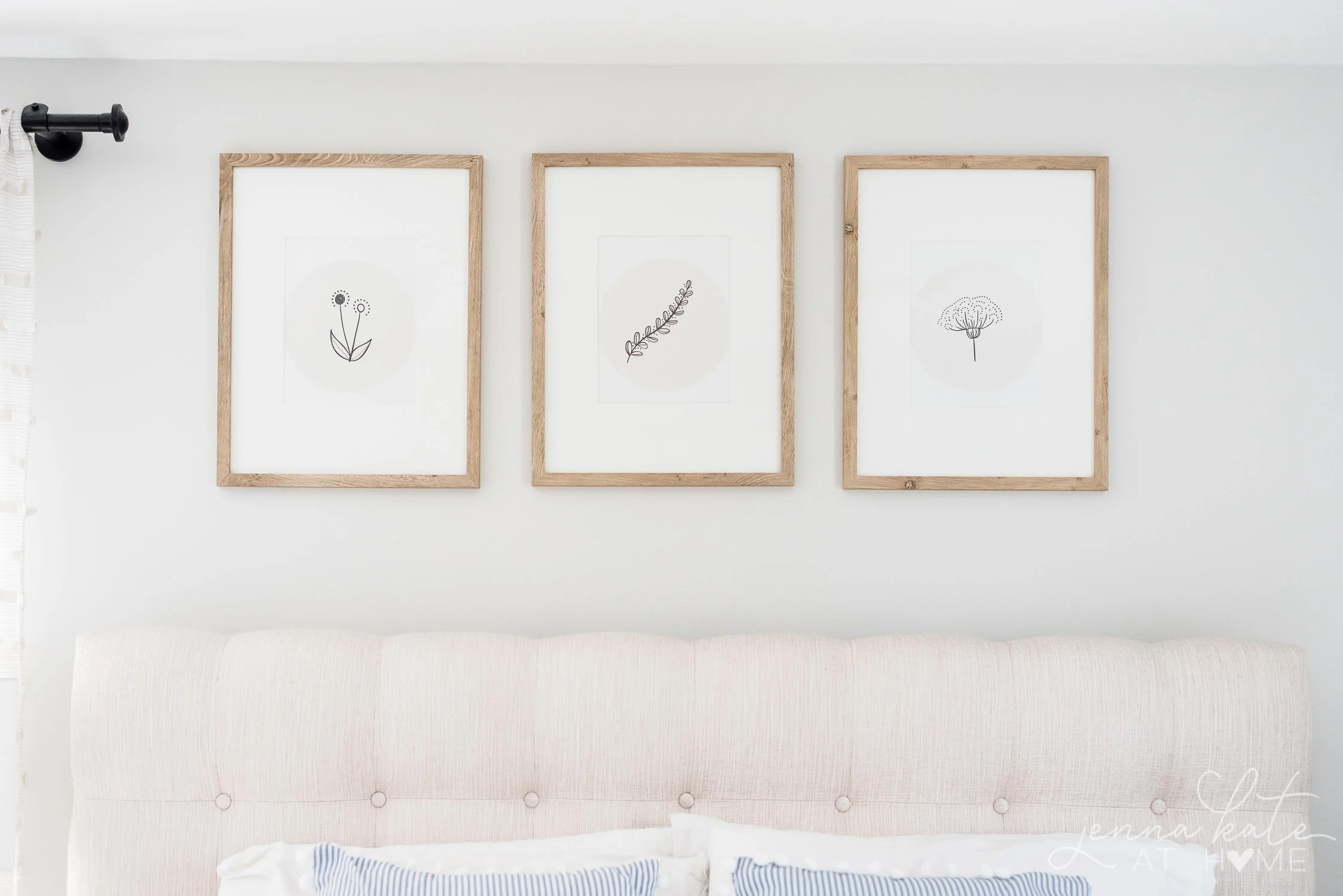 free spring printable art prints to hang in your bedroom