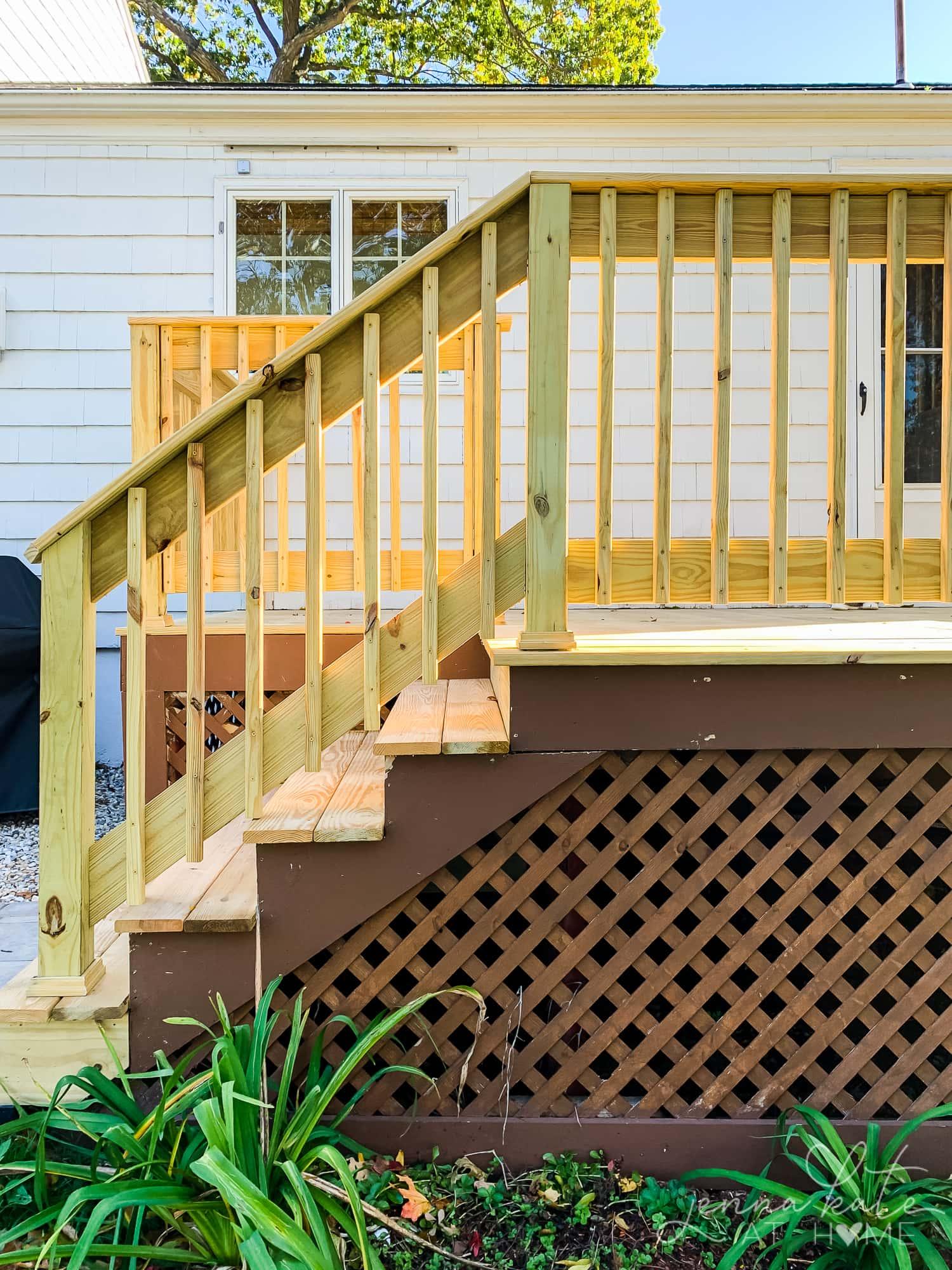 Old deck versus new deck