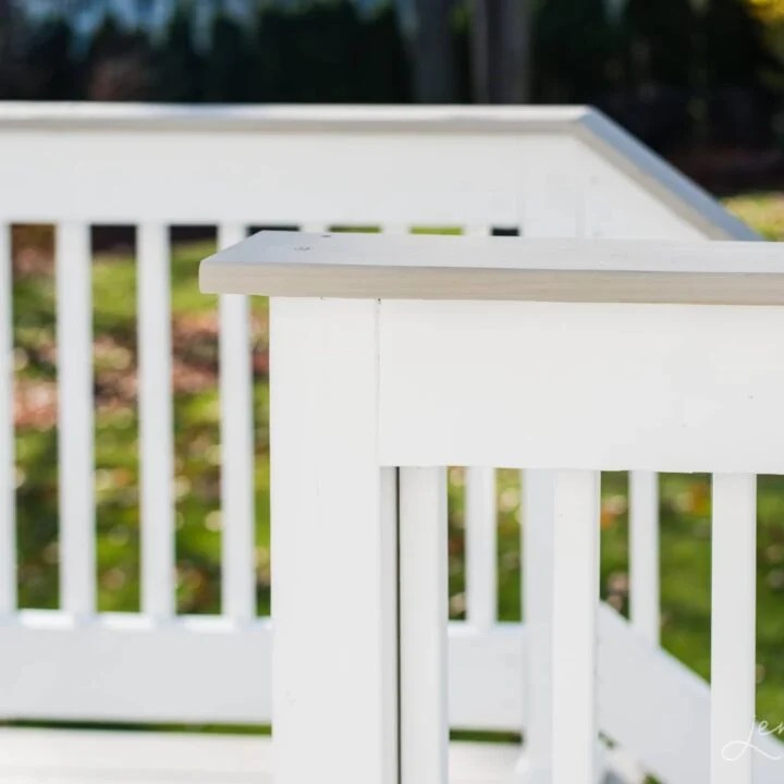 The easiest way to stain a new wood deck in one afternoon. From prep to painting and the best products to use, it's all covered here!