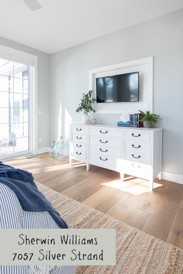 soft blue gray bedroom walls
