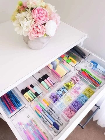 How to organize every drawer in every room of your house!