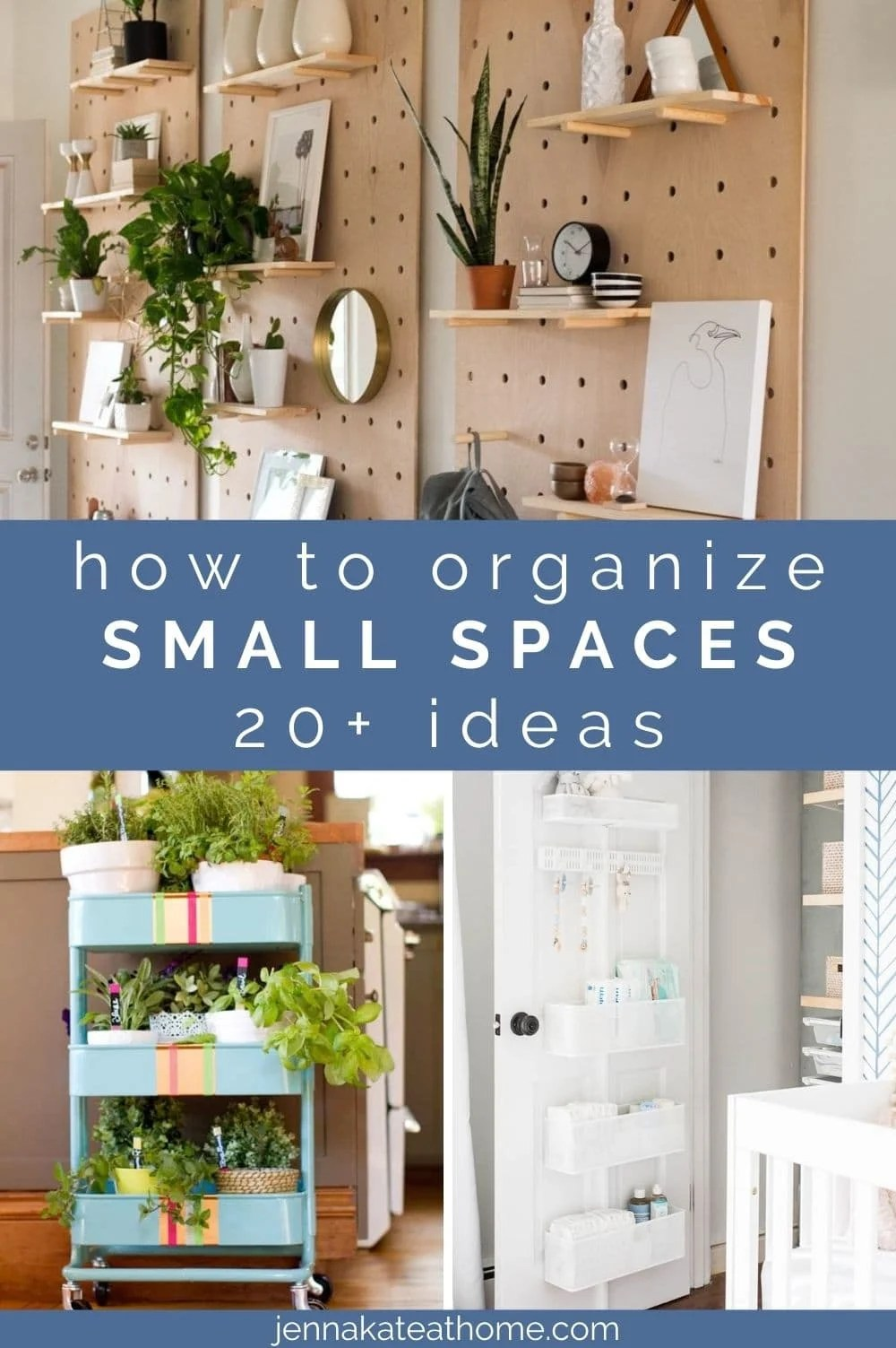 clever ideas for organizing small spaces