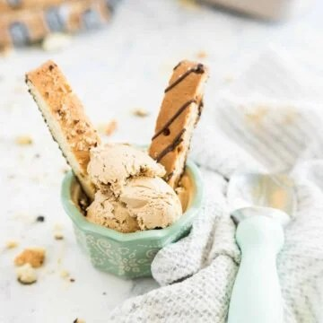 homemade coffee ice cream
