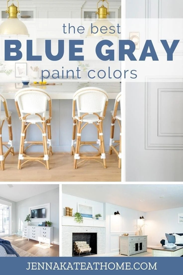 The best blue gray paint colors for your home
