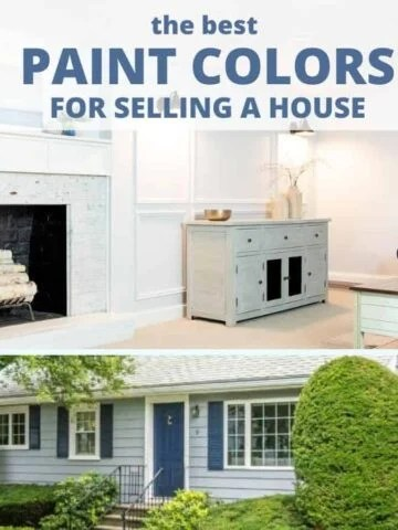 the best paint colors for selling your house