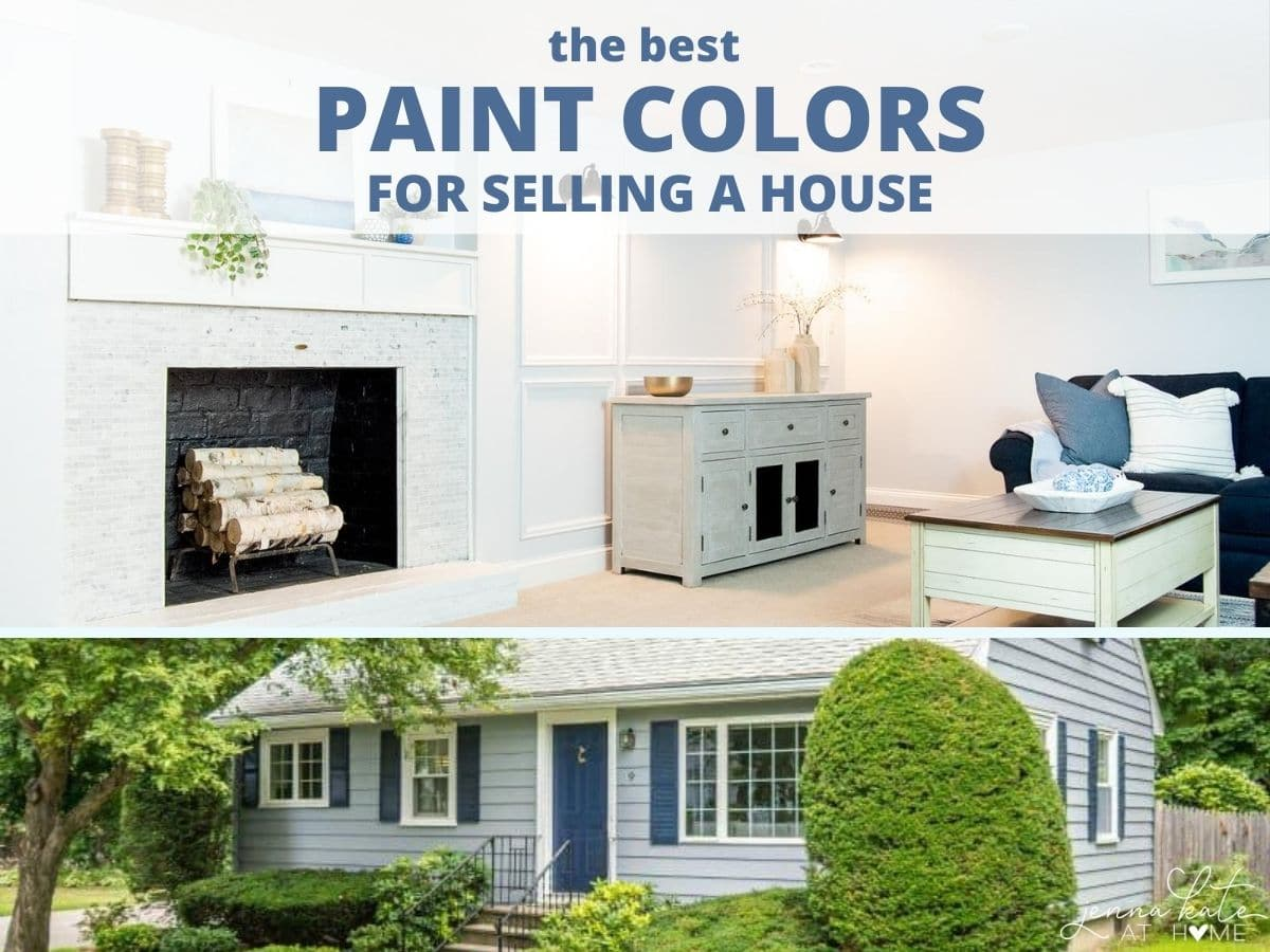 The best paint colors for selling a house