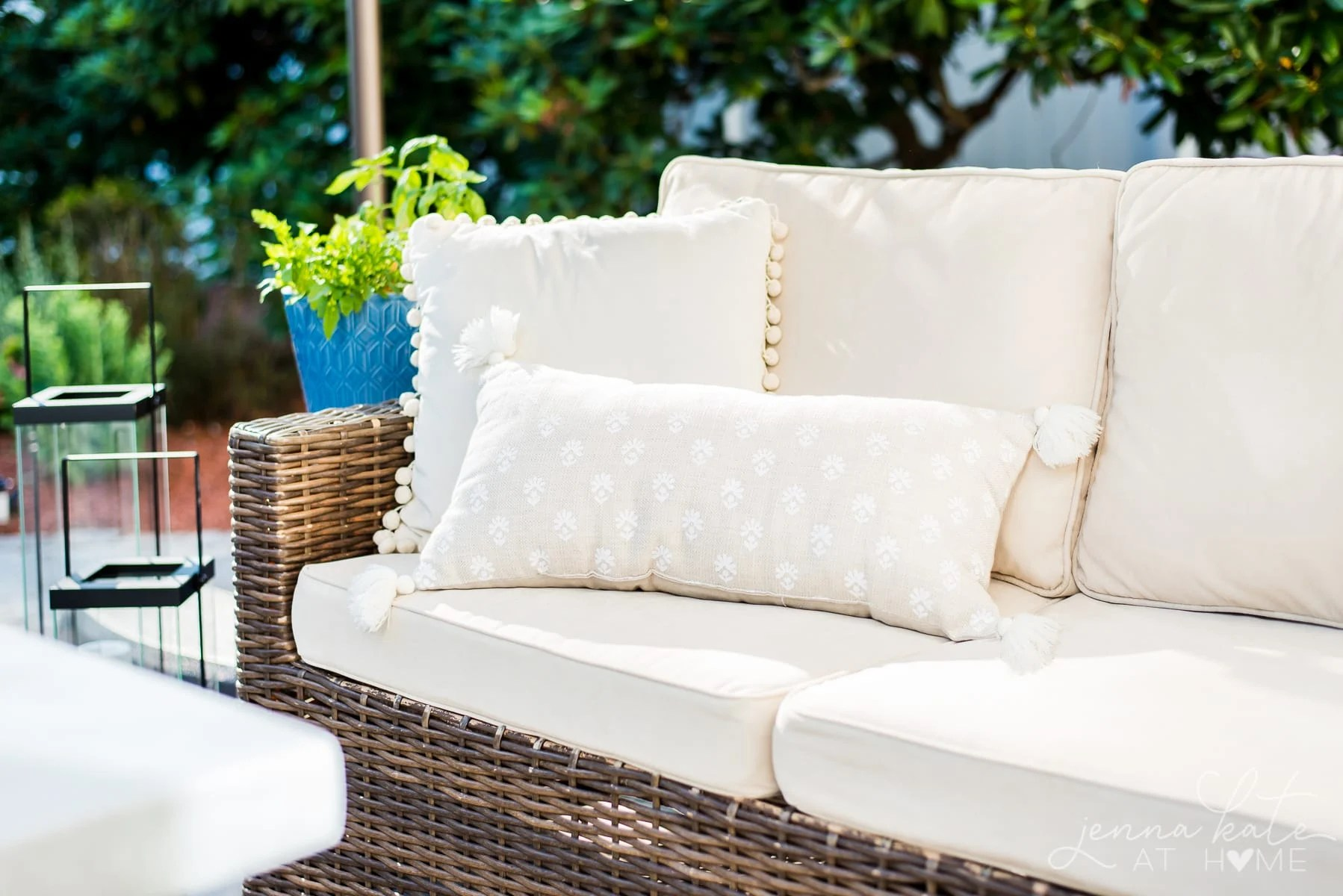 The quick and easy way to clean outdoor patio cushions using a few basic household supplies