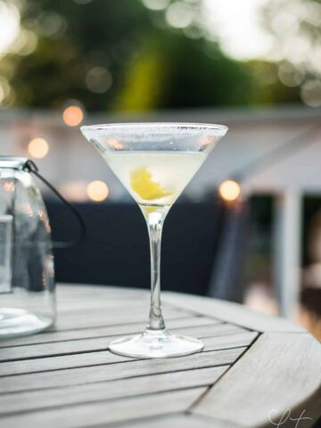 lemon drop vodka martini