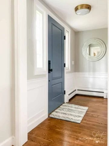 repose gray entryway