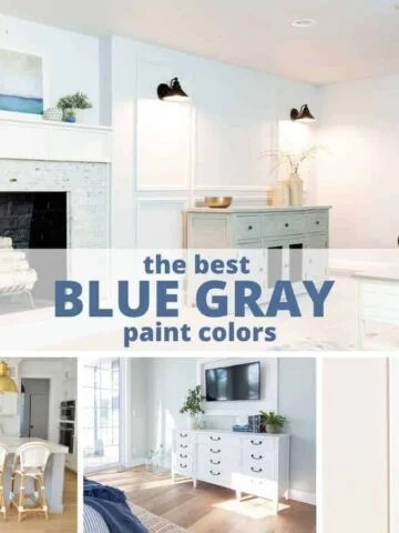 the best blue gray paint colors, sherwin williams, benjamin moore and behr