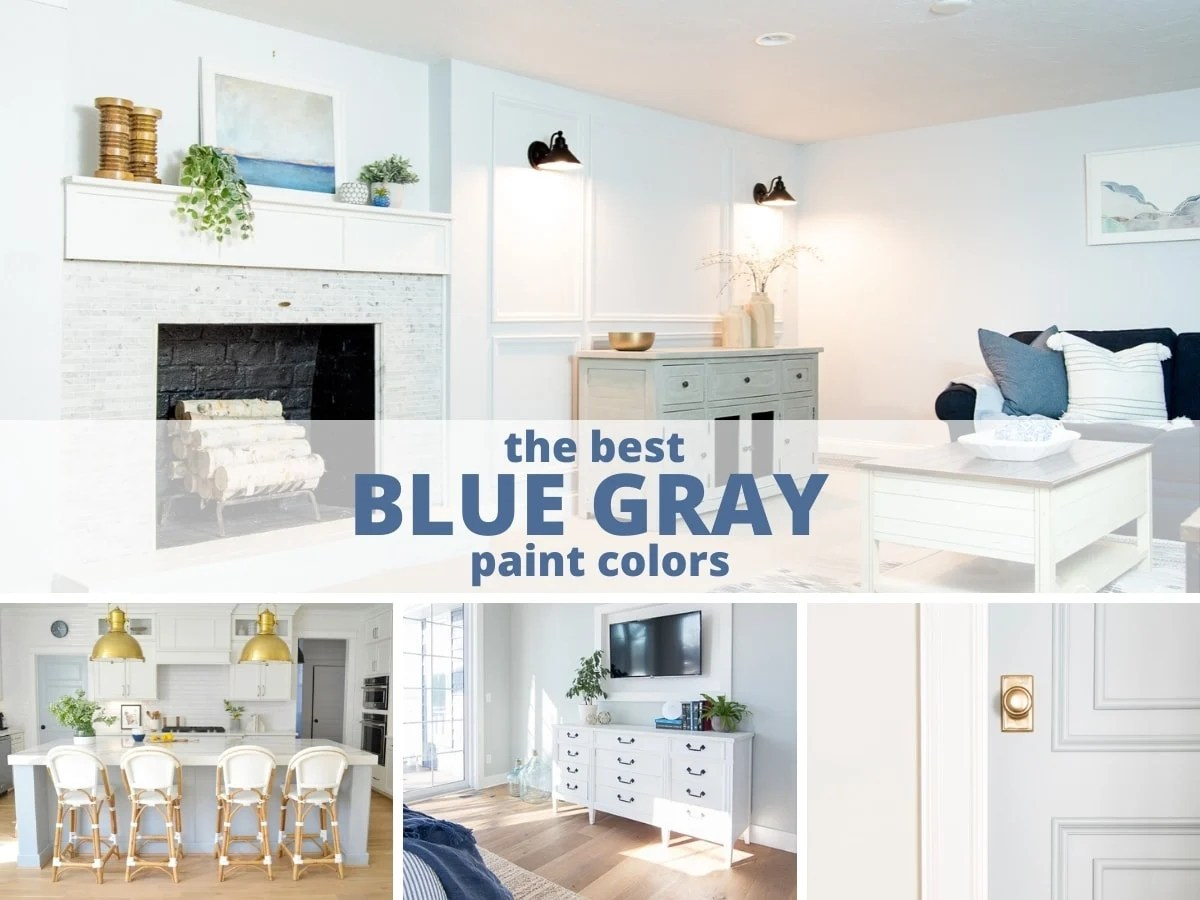 The Best Blue Gray Paint Colors And Most Popular Jenna Kate At Home