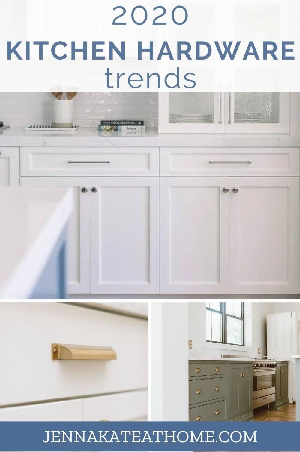 2020 kitchen hardware trends