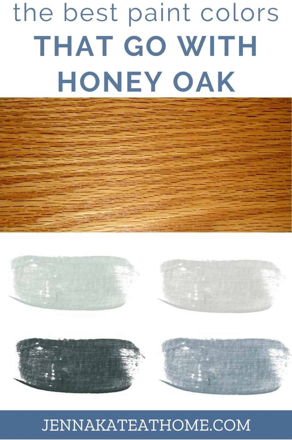 paint colors that go with honey oak