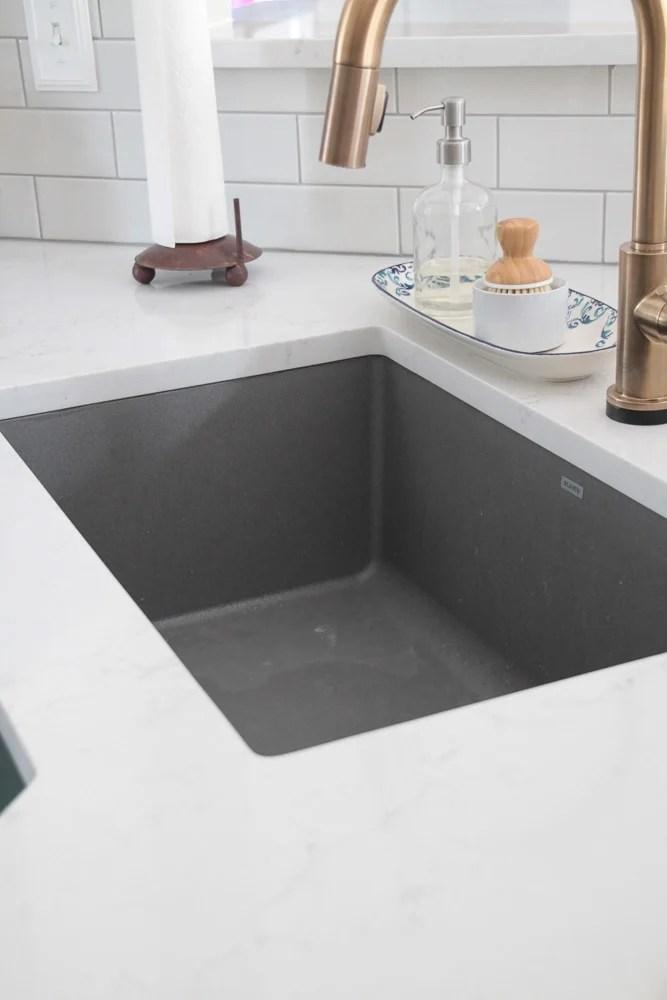 Composite sinks are trendy