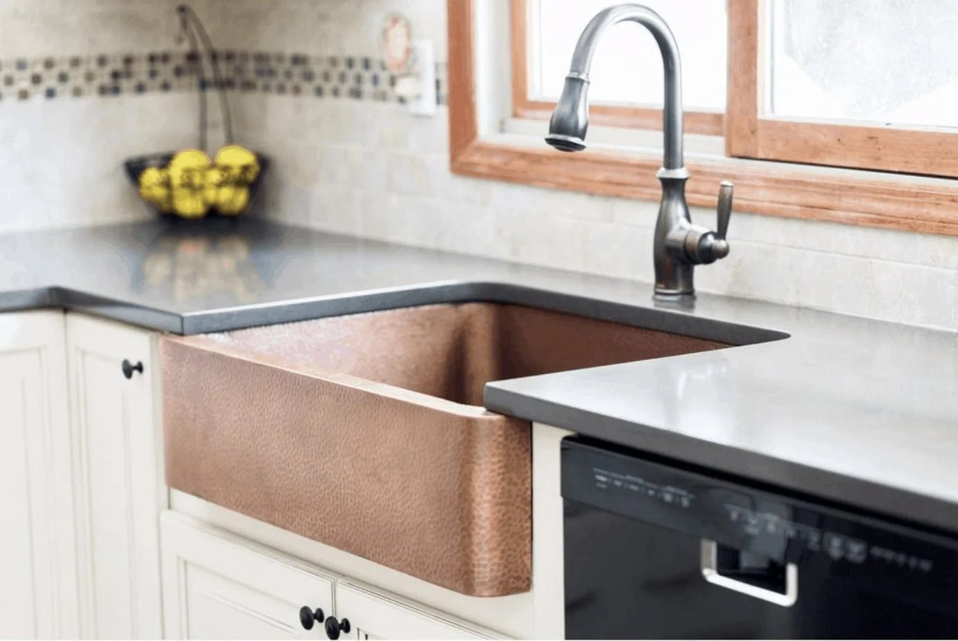 Copper sinks are a new trend we're seeing