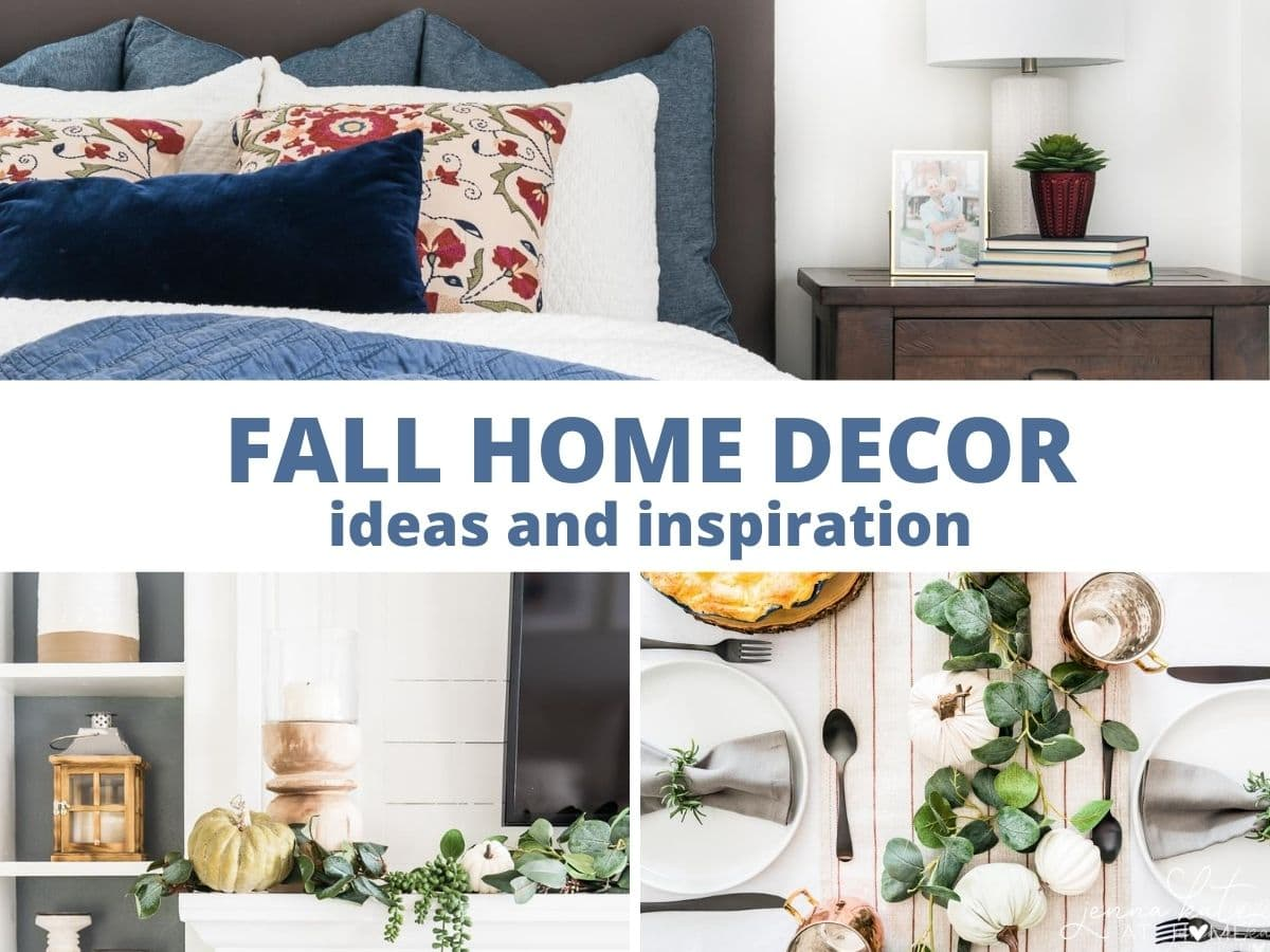 fall 2020 home decorating ideas and inspiration