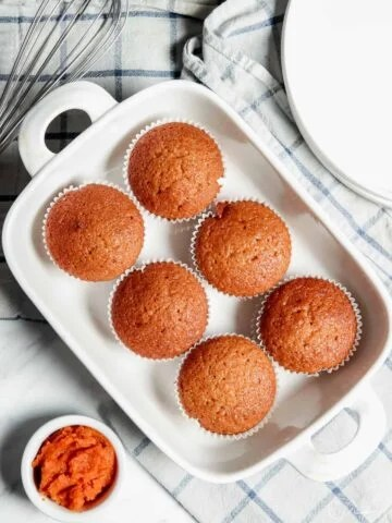 easy to make pumpkin bread muffins
