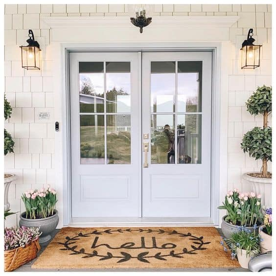 Benjamin Moore Athabasca Front Door