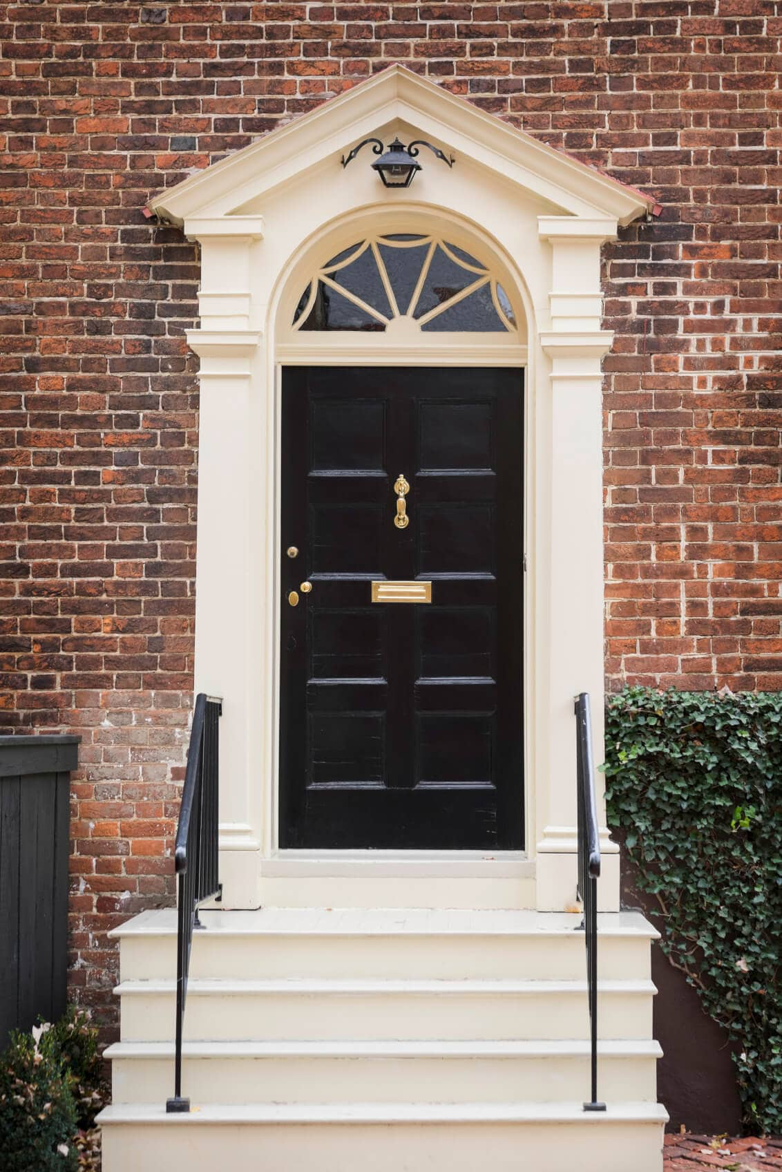 best front door colors for red brick bouses