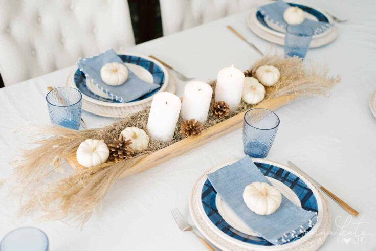 Easy Natural Fall Centerpiece
