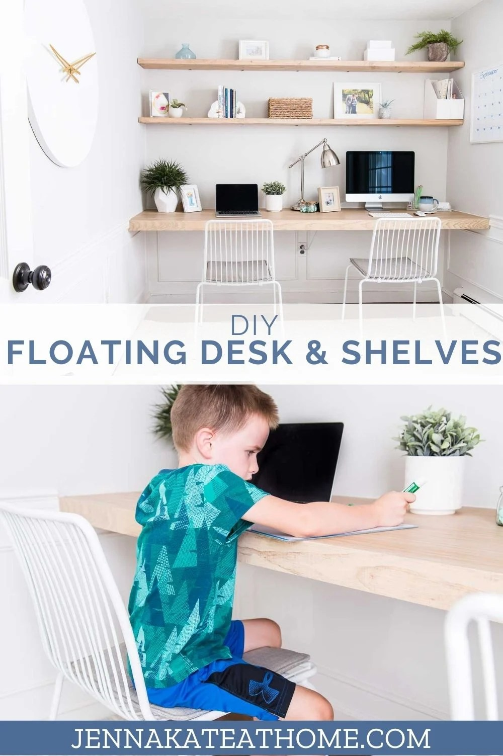 diy desk nook