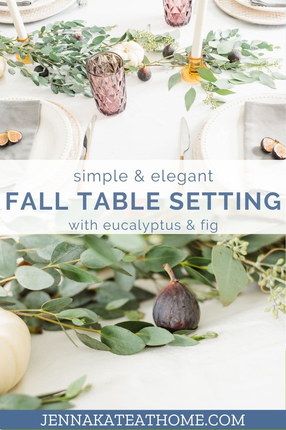elegant fall table setting