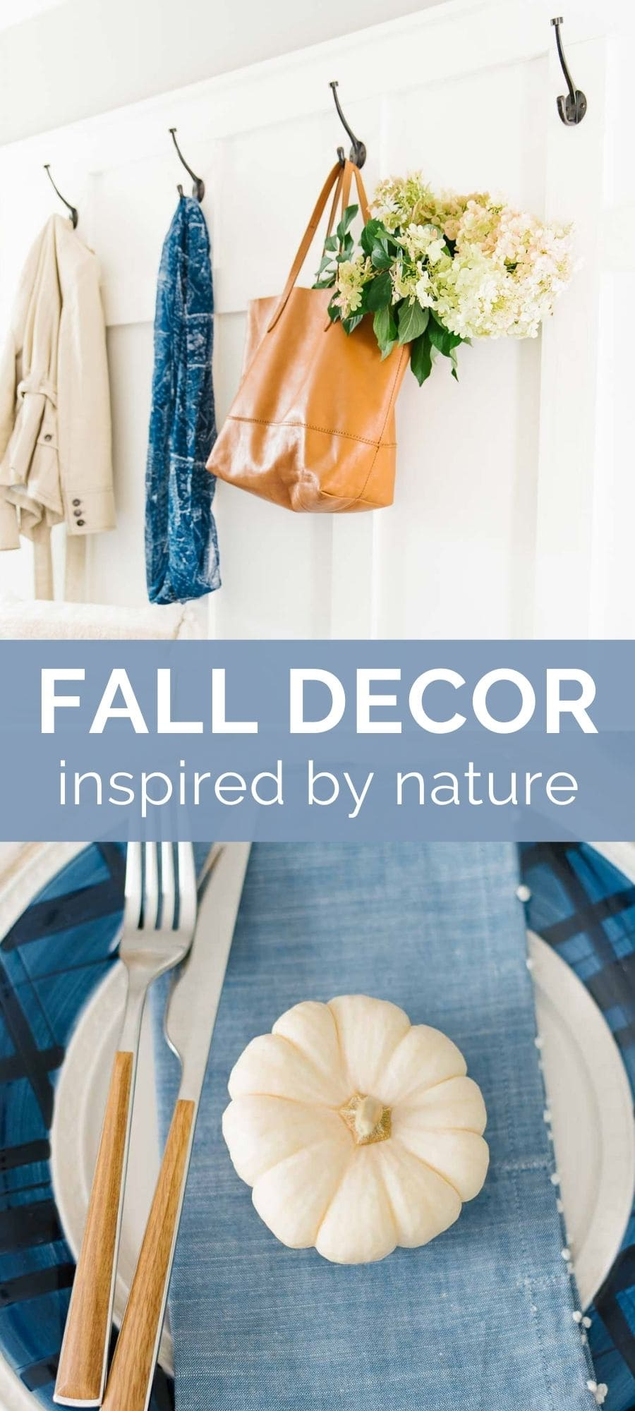 fall decor inspired by nature