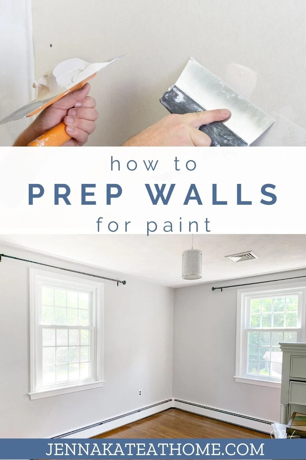 how to prep walls for paint