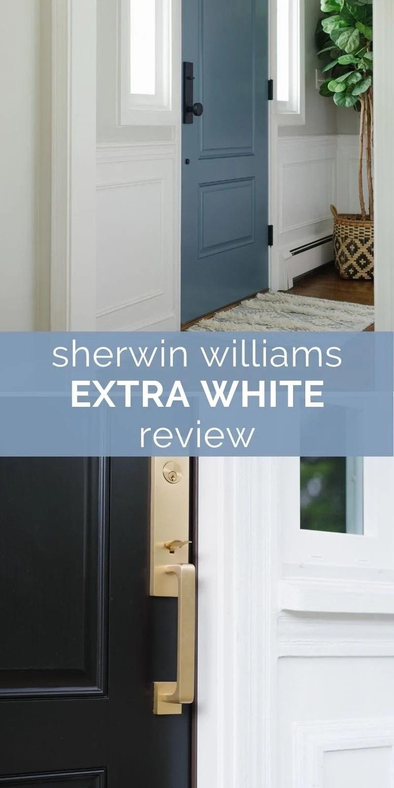 Sherwin Williams extra white