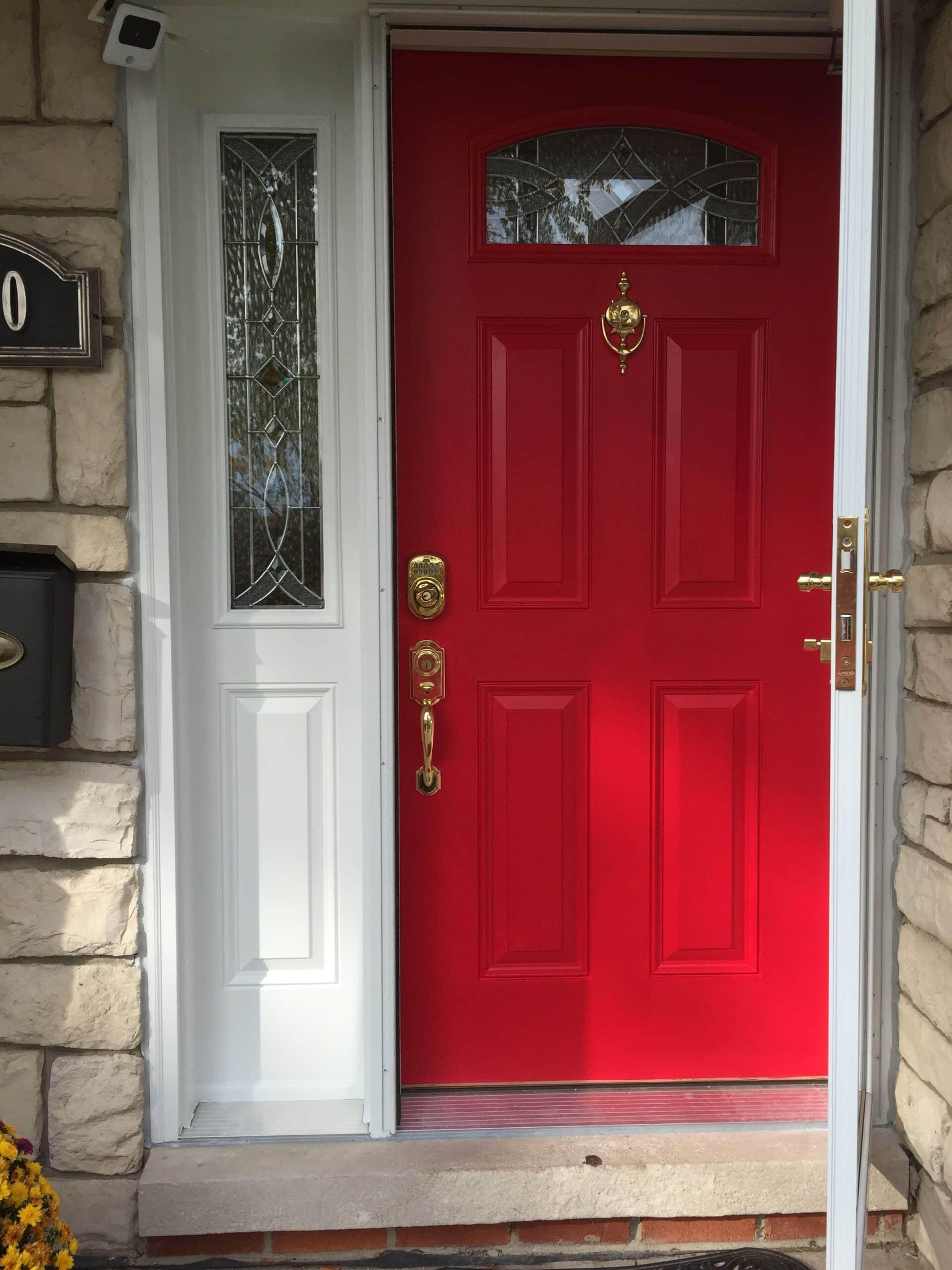Sherwin Williams Heartthrob Front Door