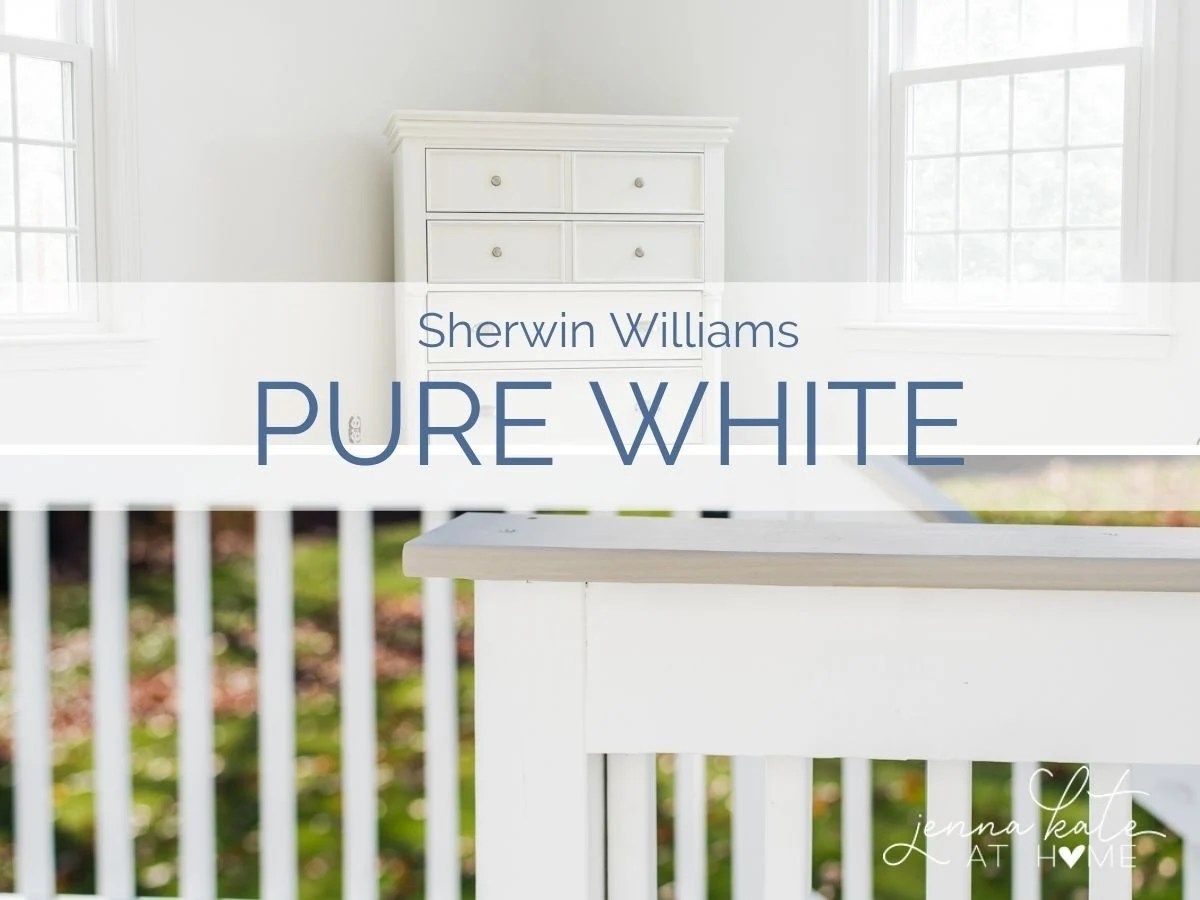 Sherwin Williams Pure White (7005)