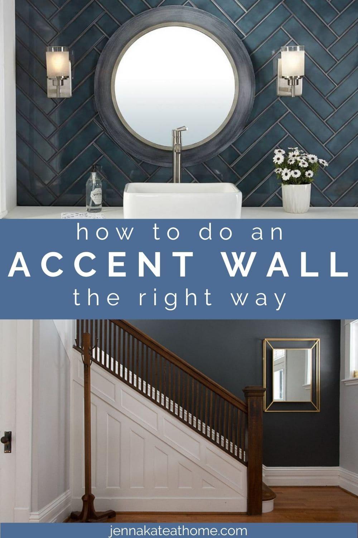 accent walls pinterest