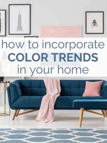 how to add pops of color to a room
