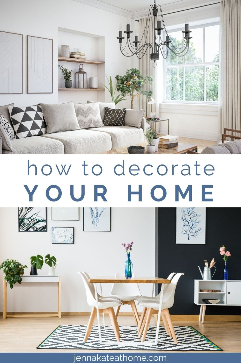 How to decorate your home from scratch