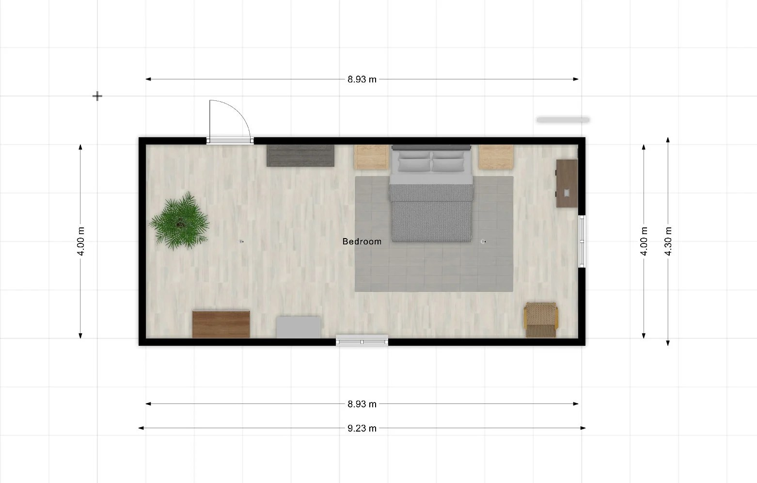 How to create a space plan with an online app or graph paper