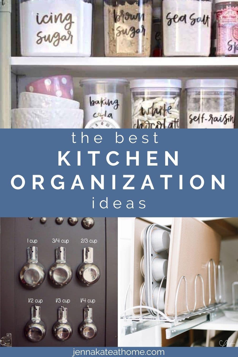the best kitchen organization ideas