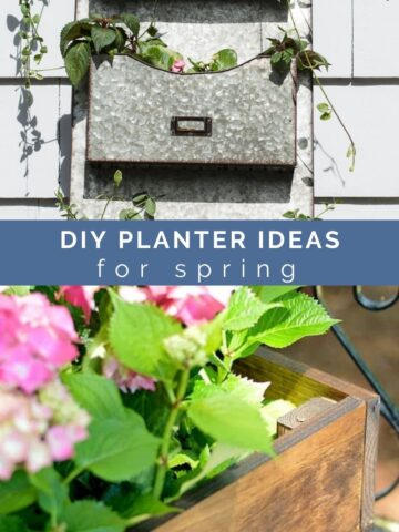 diy unique planter ideas