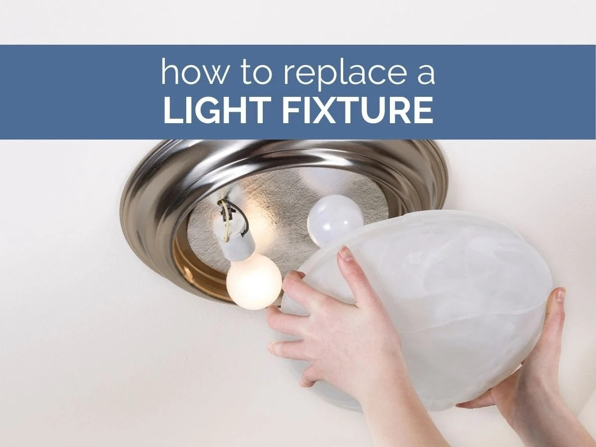 how to replace a light fixture header image with text overlay