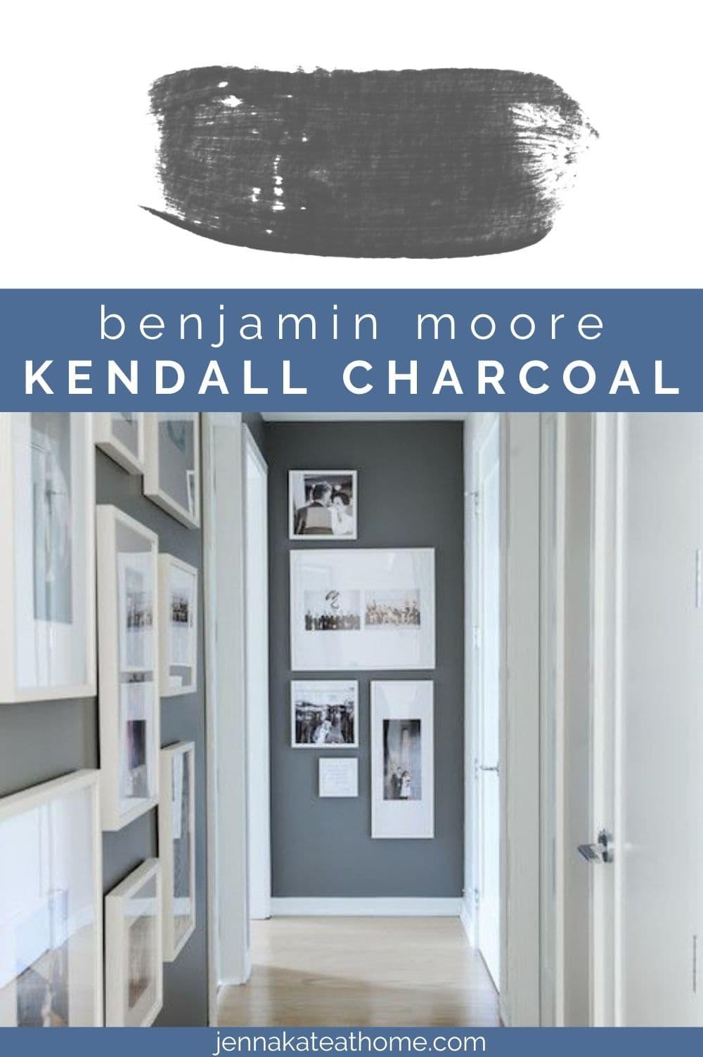 Benjamin Moore Kendall Charcoal pin