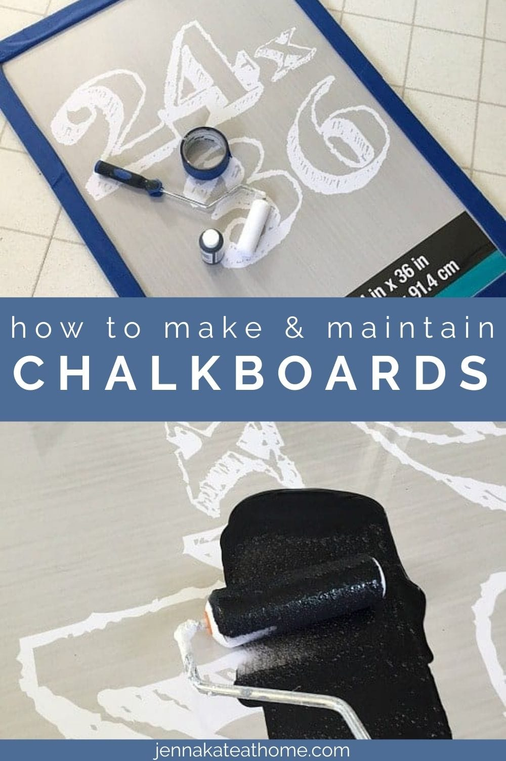 how to make and maintain chalkboards pin